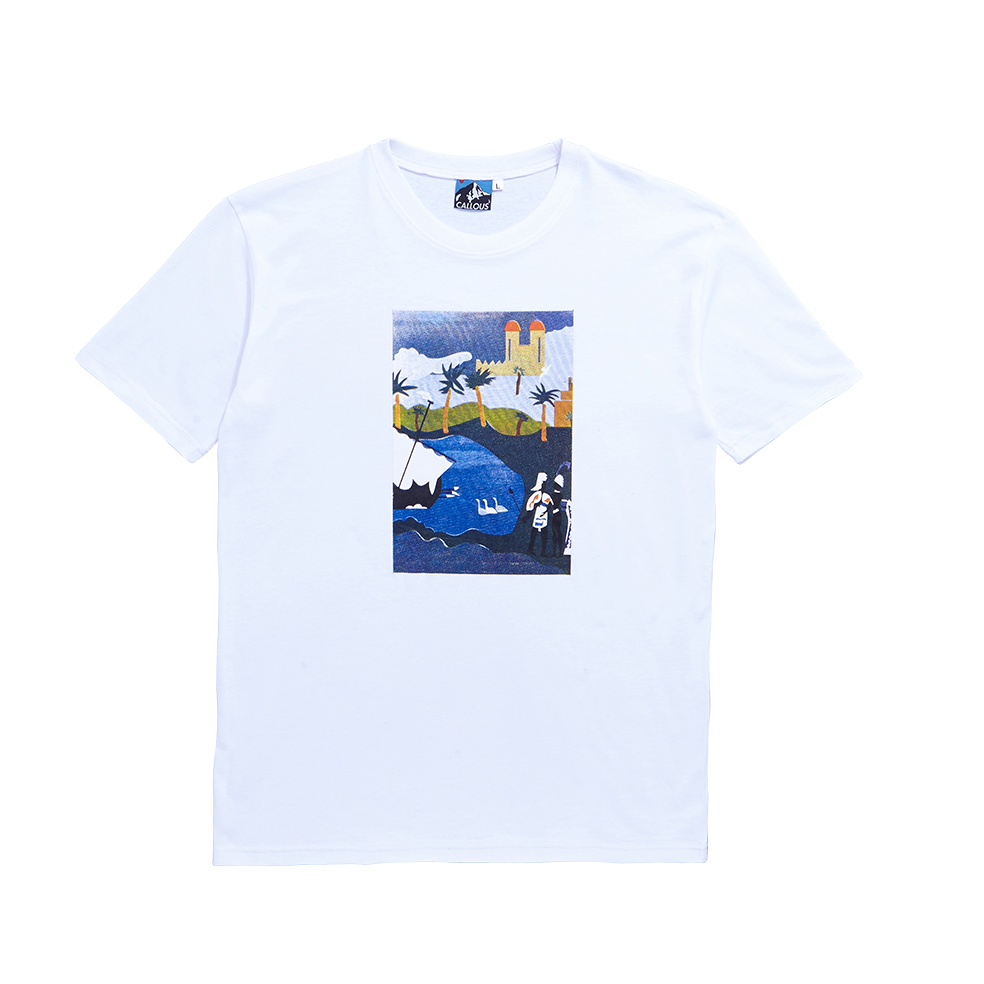 Image of Tropico Short Sleeve  White T-Shirt