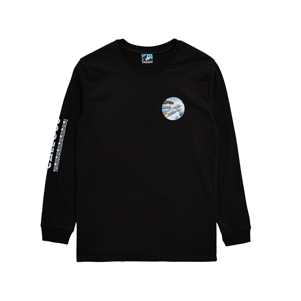Image of crash LS T-Shirt black