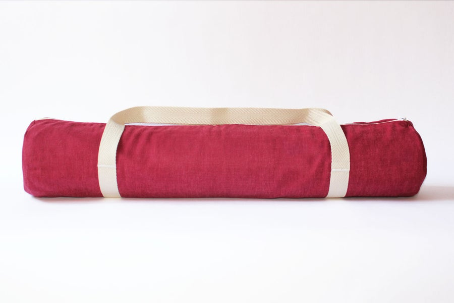 Image of Yoga Bag  • Bordeaux