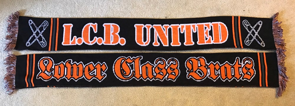 Image of L.C.B UNITED football scarf