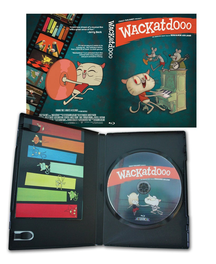 Image of Wackatdooo Blu-Ray Disc