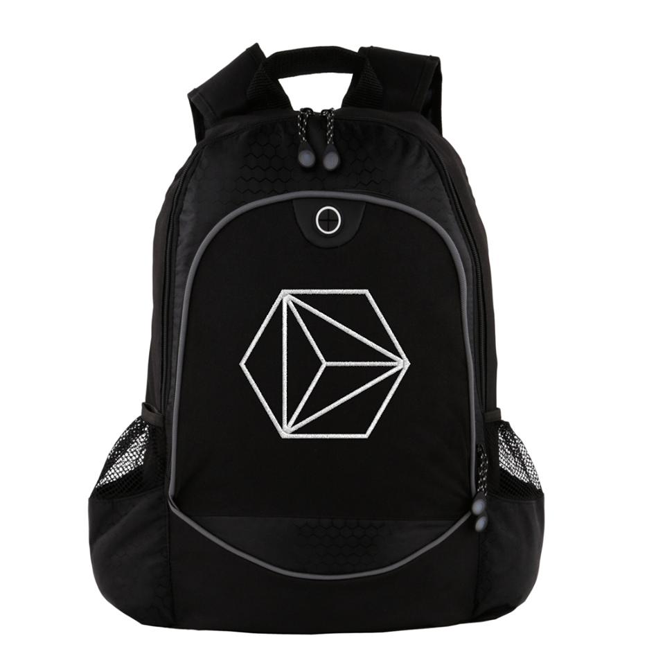Image of Embroidered Computer Backpack V.II