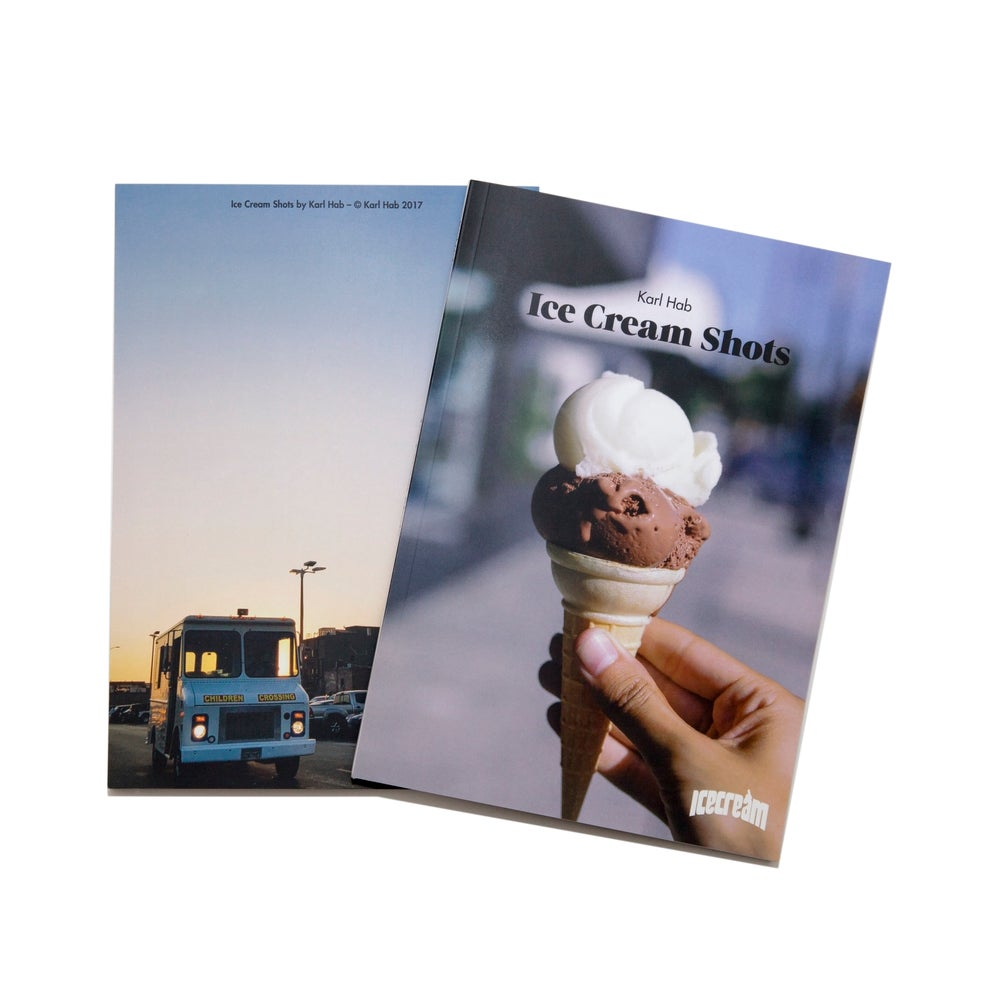 "Image of ZINE ""ICE CREAM SHOTS"""