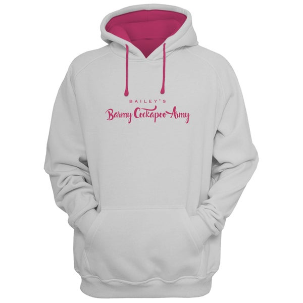 Image of 'Barmy Army' Personalised Cockapoo Hoodie