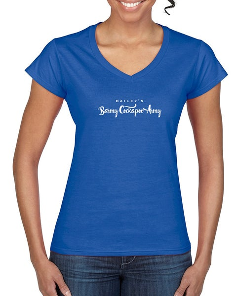 Image of 'Barmy Army' Personalised T-Shirt