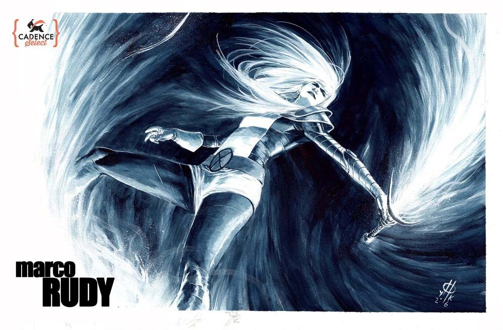 Image of Marco Rudy Watercolor Commission (Mail Order)