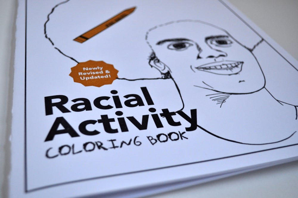 Image of Racial Activity Coloring Book