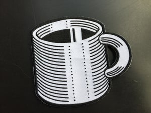 Image of Camp Coffee Cup Patch