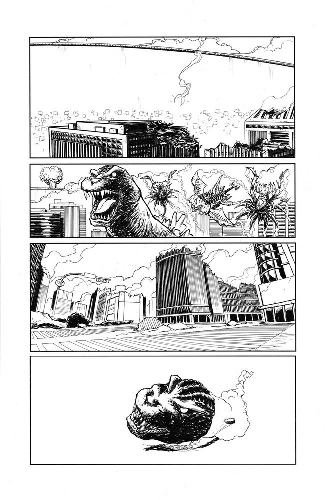 Image of Godzilla In Hell #4 page 12