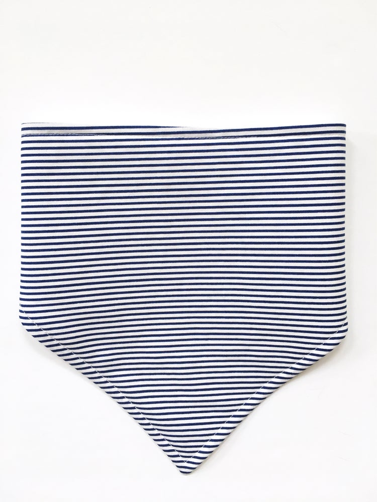 Image of Navy Stripe Bandie
