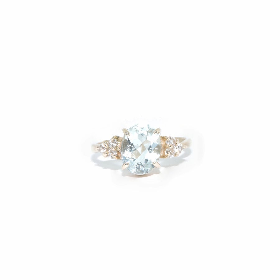 Image of pale aquamarine ring