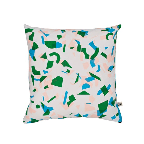 Image of Radium Random Forest Cushion by Kangan Arora