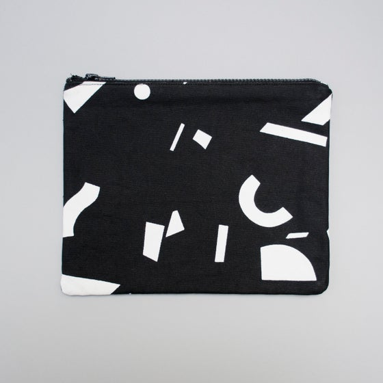 Image of Radium Mono Large flat purse by Kangan Arora - 15% off