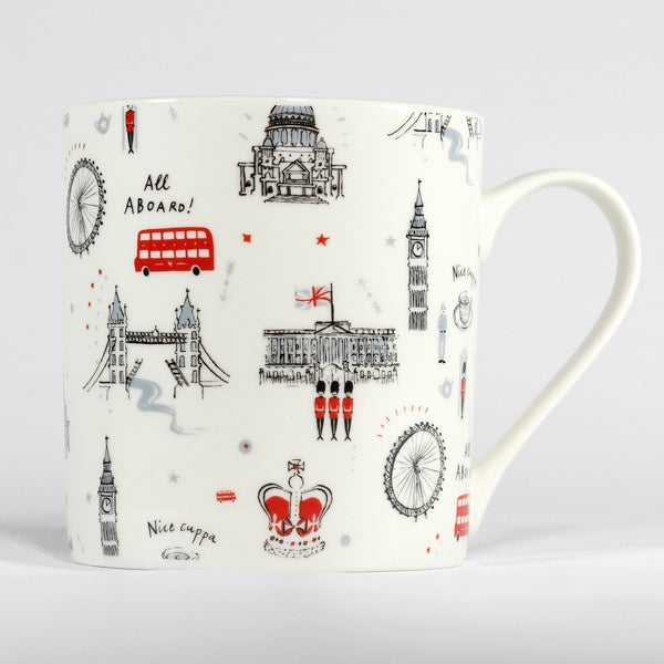 Alice Tait London Patterned Mug - Alice Tait Shop