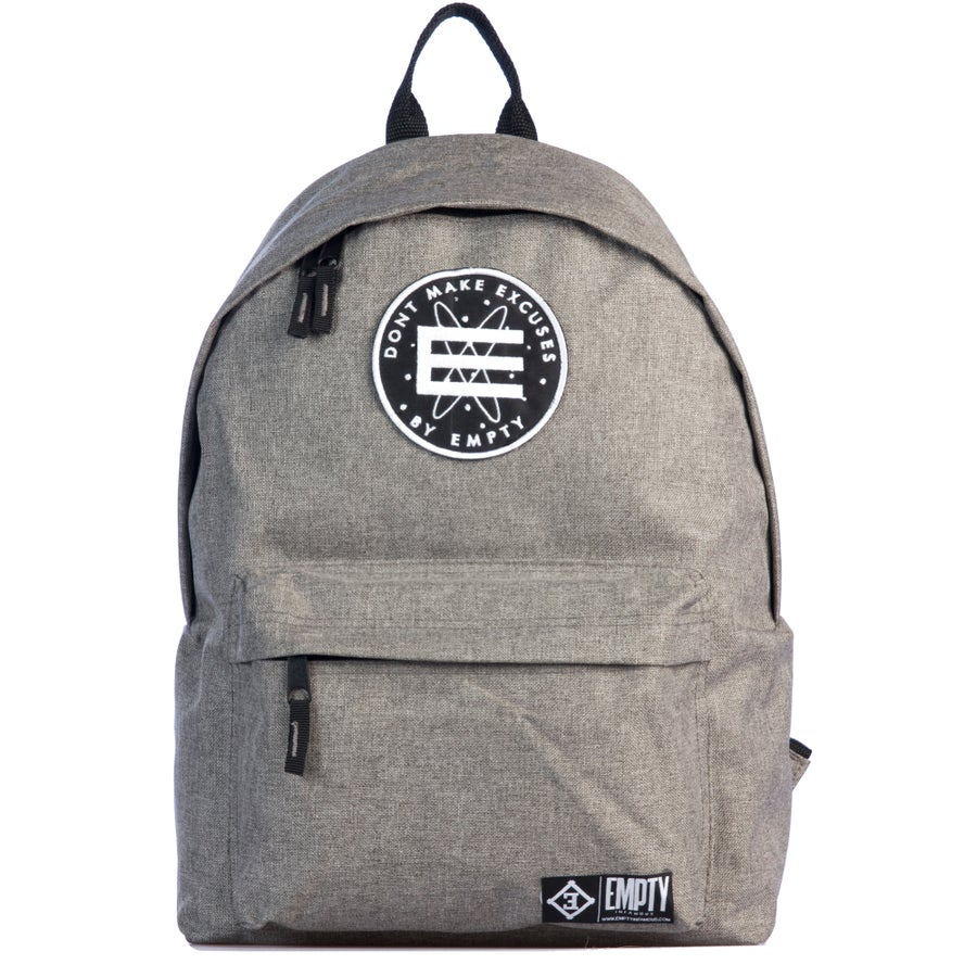 Image of Back Pack Grey.