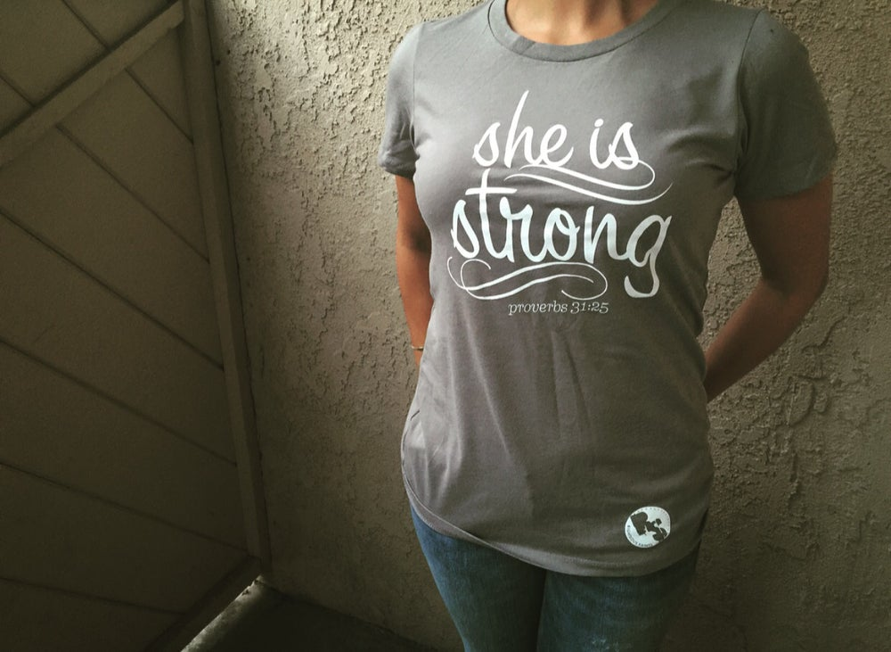 Image of She is Strong