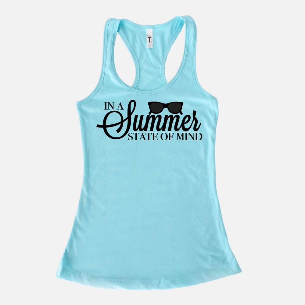 Image of In a SUMMER State of MInd RacerBack Tank