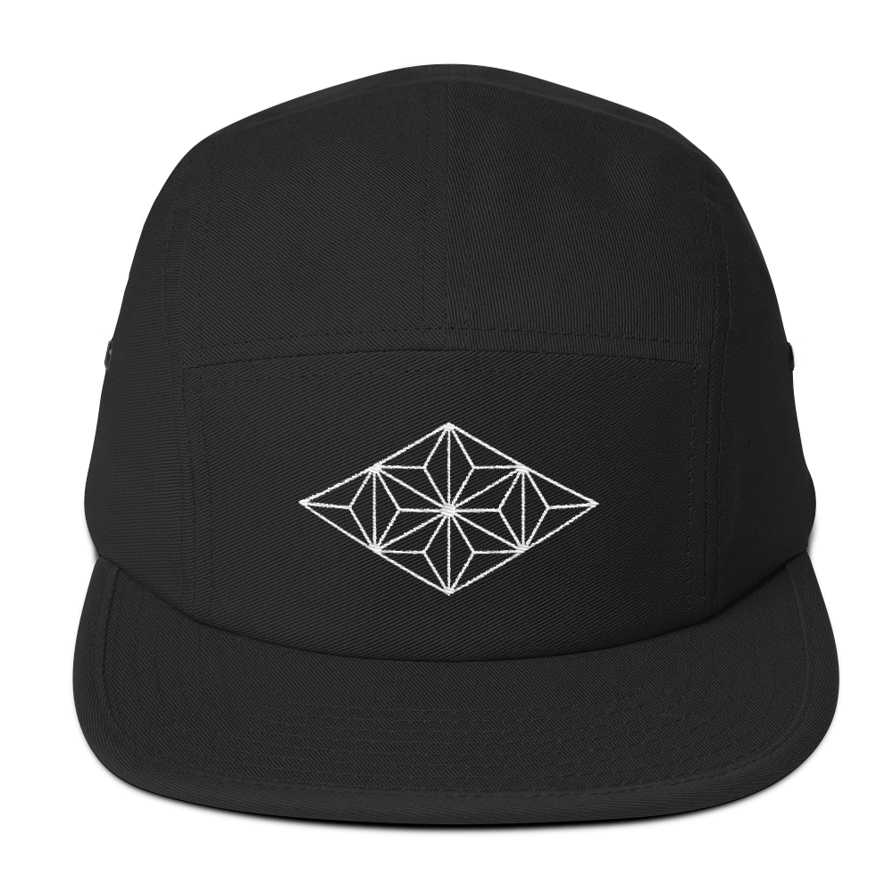 Image of Low Profile Embroidered 5 Panel V