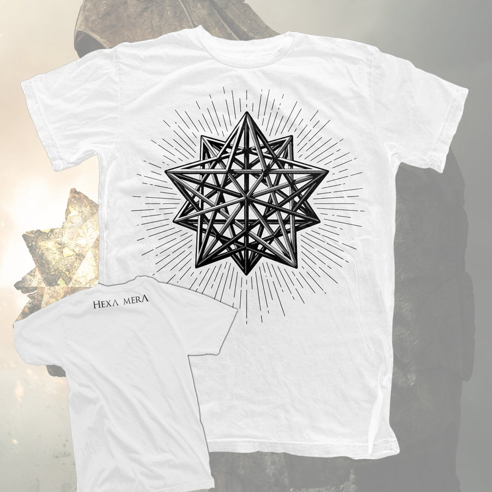 Image of DODECAHEDRON SHIRT WHITE