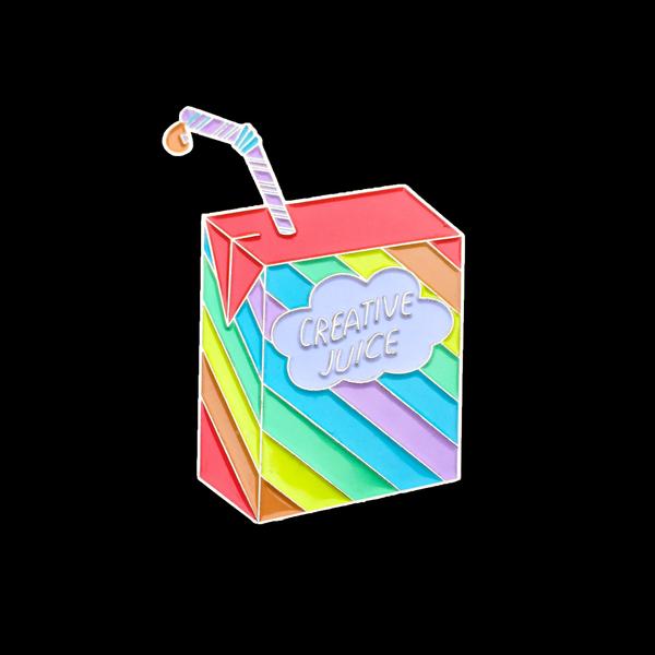 Image of Creative Juice Enamel Pin