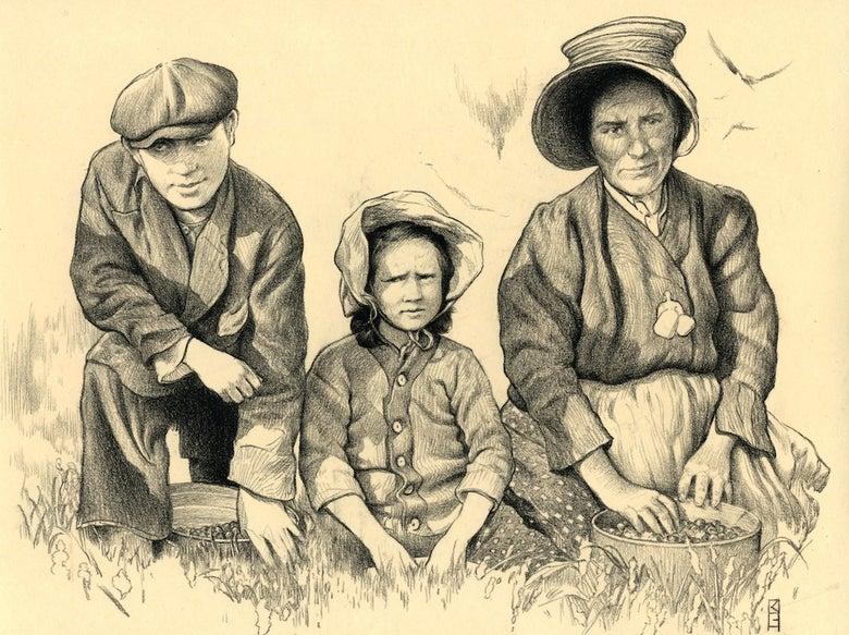"""Image of """" Workers, Massachusetts 1911 """""""