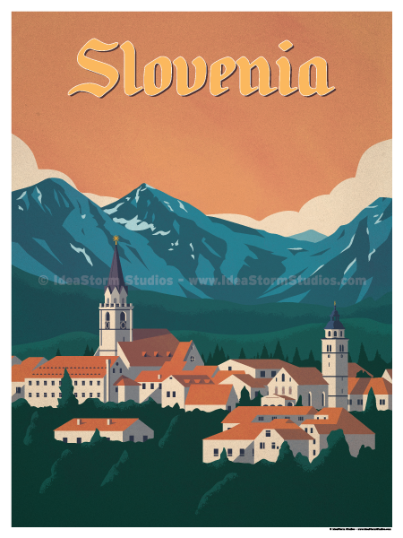 Image of Slovenia Poster