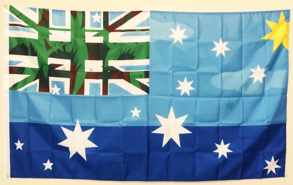 Image of TROPICAL TRIPLE FLAG