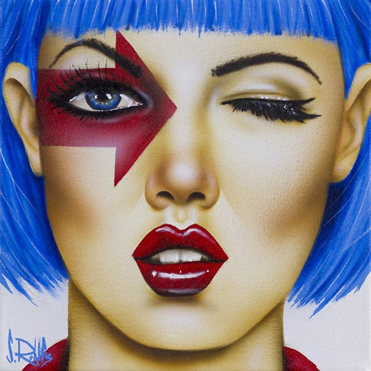 Image of Scott Rohlfs original small painting 'Right Direction'