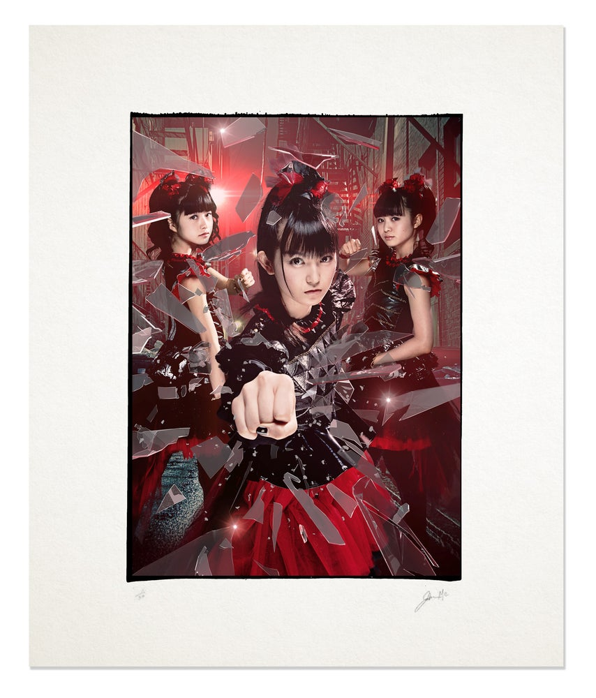 Image of BABYMETAL - COVER ARTWORK 20x16