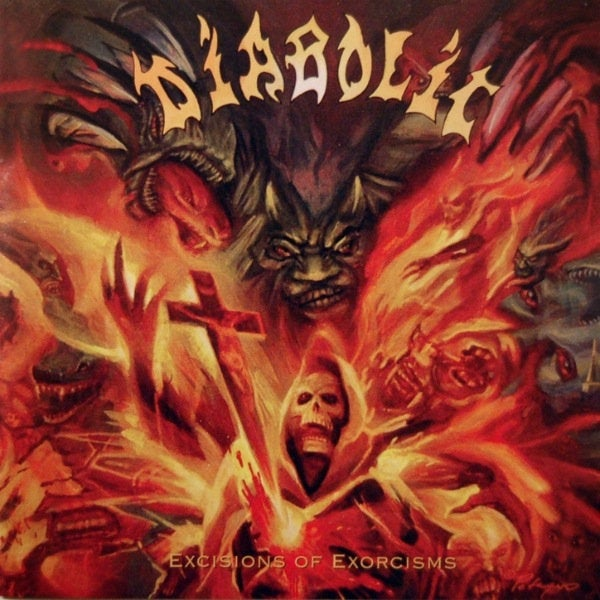 """Image of DIABOLIC """" Excisions of Exorcisms """" CD"""