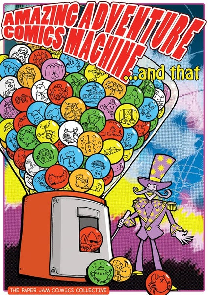 Image of Amazing Adventure Comics Machine ...and that