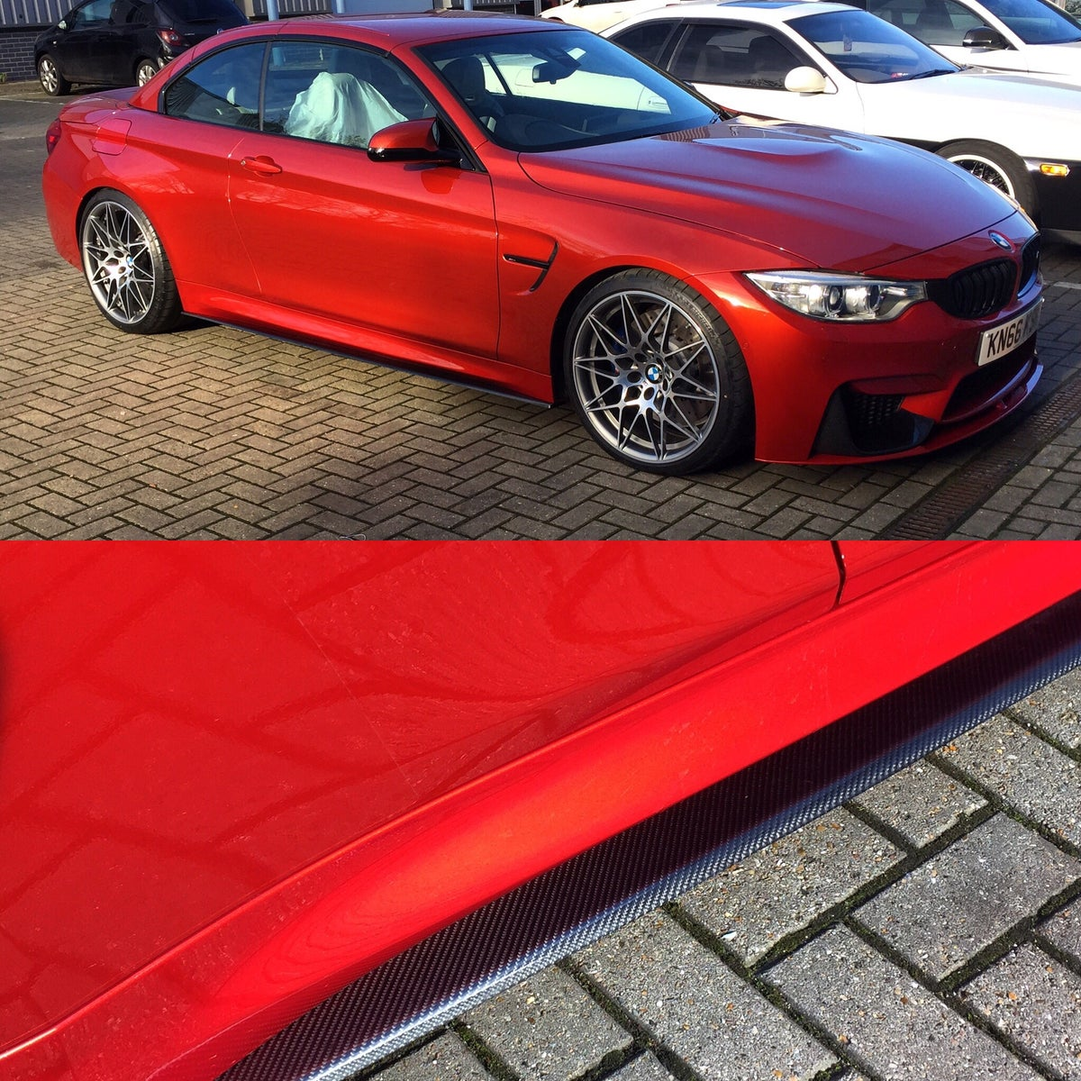 Image of Carbon speed Side blades BMW M3 M4 F80 F82 F83