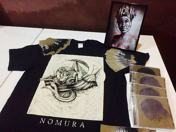 "Image of Bundle: ""Caetus"" 2XL T-Shirt + Inerte Affondare"