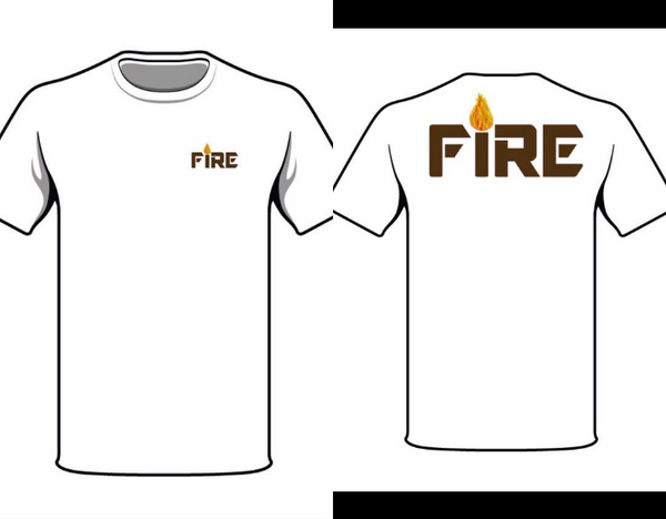 Fire clothing brand home for On fire brand t shirts