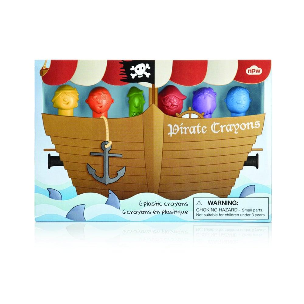 Crayons Pirates