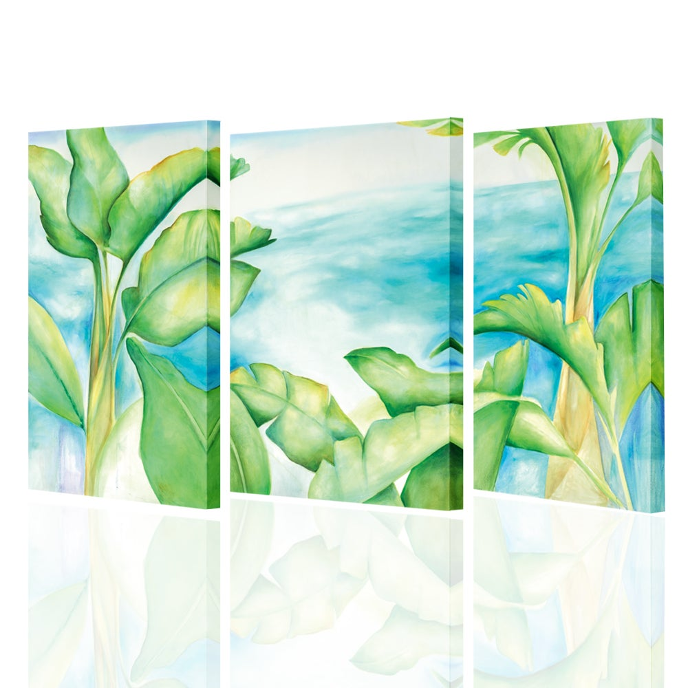 Image of Banana Palms, Giclee Print