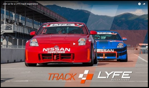 Image of LYFE trackday (price includes Utah sales tax)
