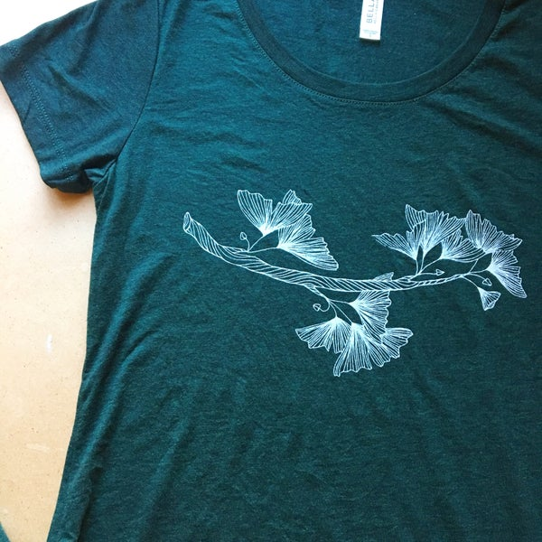 Image of Gingko - women's triblend tee