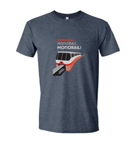 Image of Monorail x 3! Adult Shirt