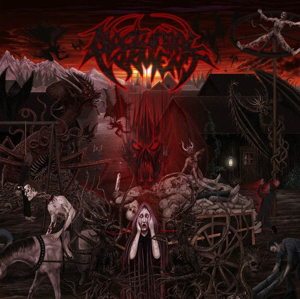 "Image of NOCTURNAL TORMENT "" They Come At Night "" CD"