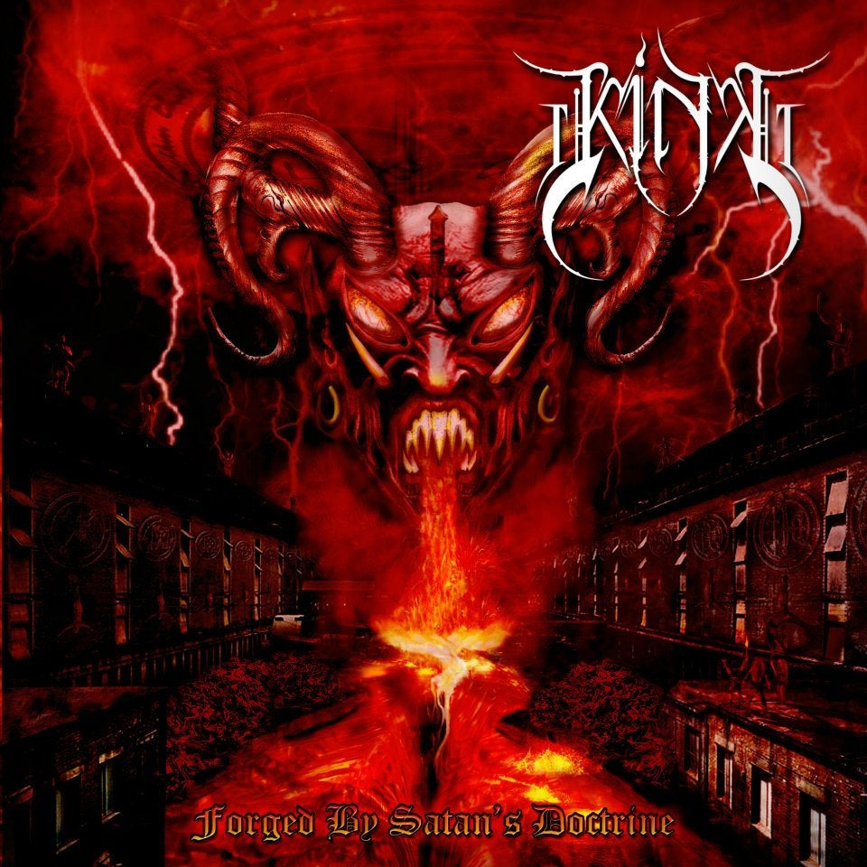 "Image of KING "" Forged By Satan's Doctrine  "" CD"