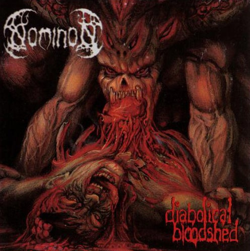 "Image of NOMINON "" Diabolical Bloodshed  "" CD"