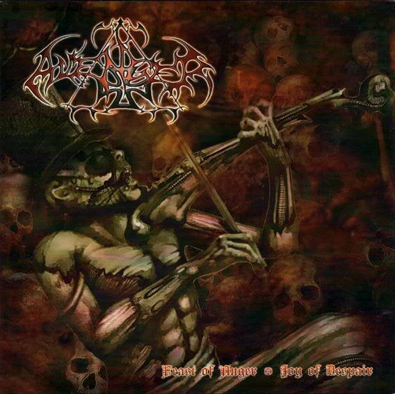 "Image of AVENGER "" Feast of Anger – Joy of Despair "" CD"
