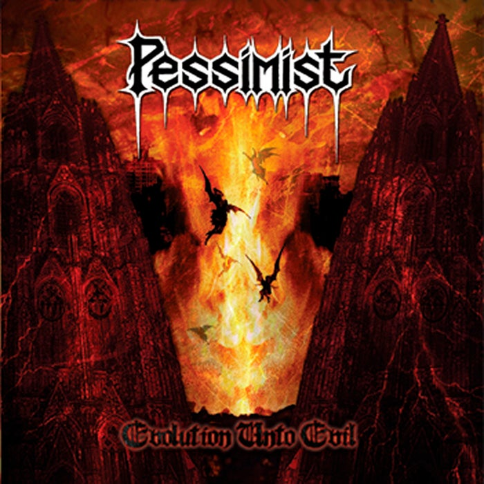 "Image of PESSIMIST "" Evolution Unto Evil "" CD"