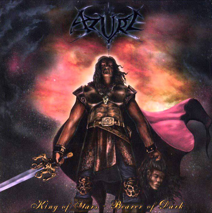 "Image of AZURE "" King of Stars - Bearer of Dark  "" Digi CD"