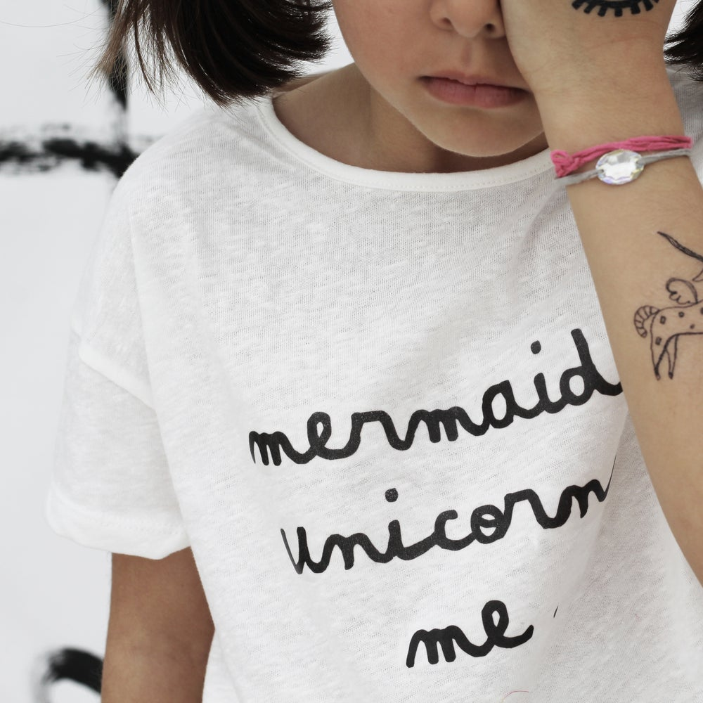 Image of TSHIRT | MERMAIDS UNICORNS ME