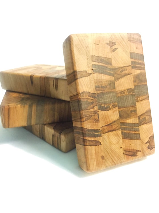 Image of Ambrosia Maple End Grain Lime Board