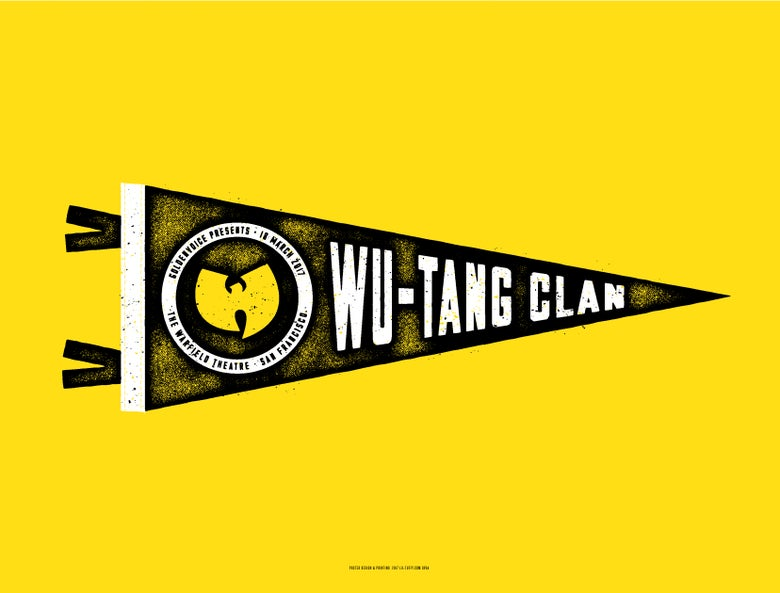 Image of Wu-Tang Clan - San Francisco 2017