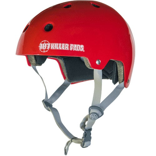 Image of CERTIFIED HELMET - Gloss Red