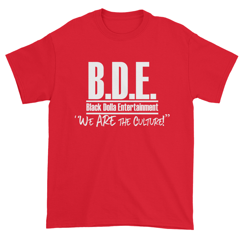 Image of RED - B.D.E. We Are The Culture T-Shirt